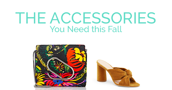 The 5 Accessories You Need This Fall