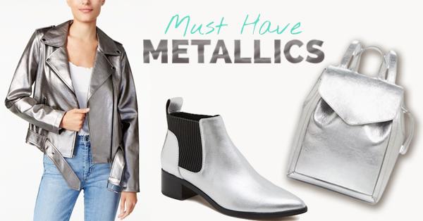 Spotlight on Winter Fashion: Must Have Metallics