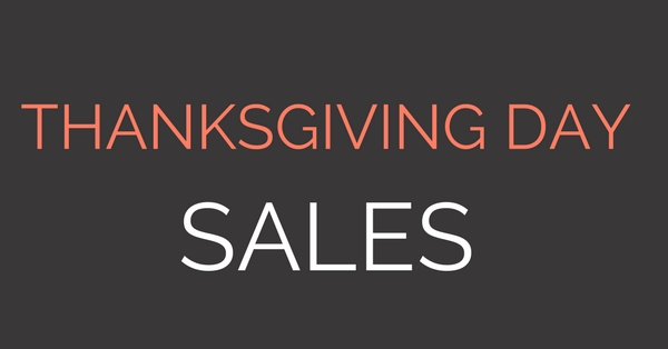 2017 Thanksgiving Day Sales