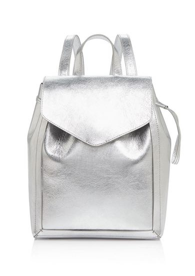 Loeffler Randall Mini Metallic Backopack