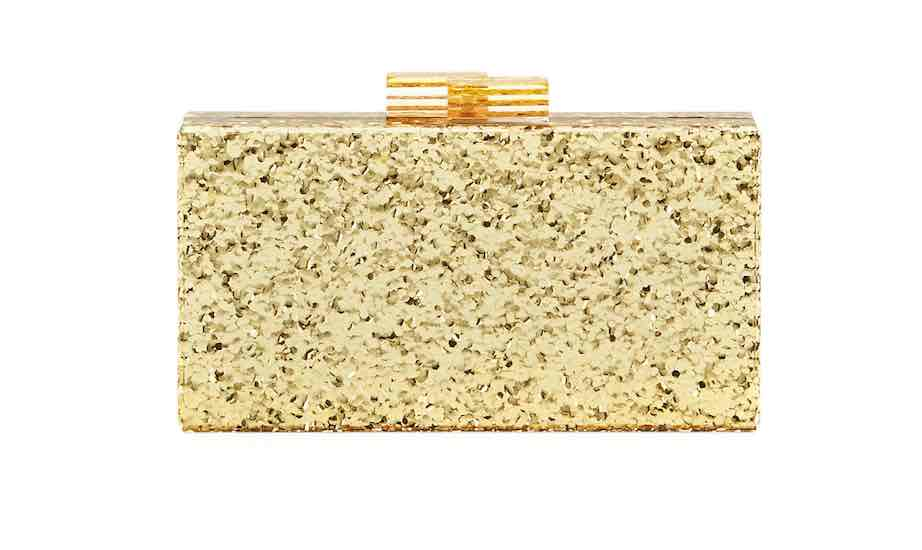 Neiman Marcus Gold Clutch