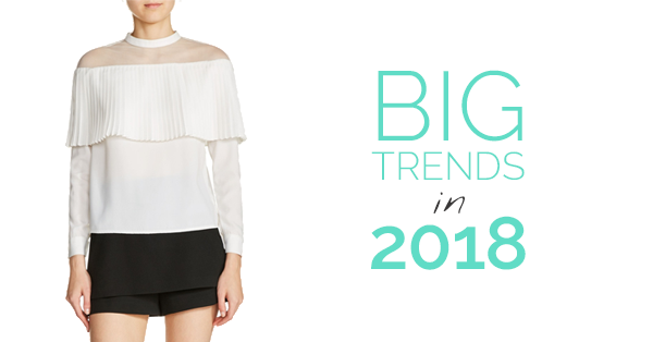 Big in 2018 – The trends to watch right now