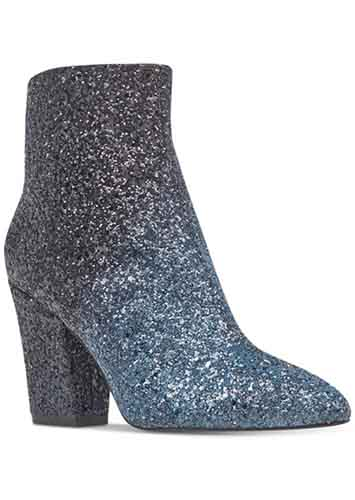 Nine West Savitra Block Heel Booties