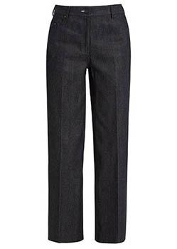 dark wide legged jeans