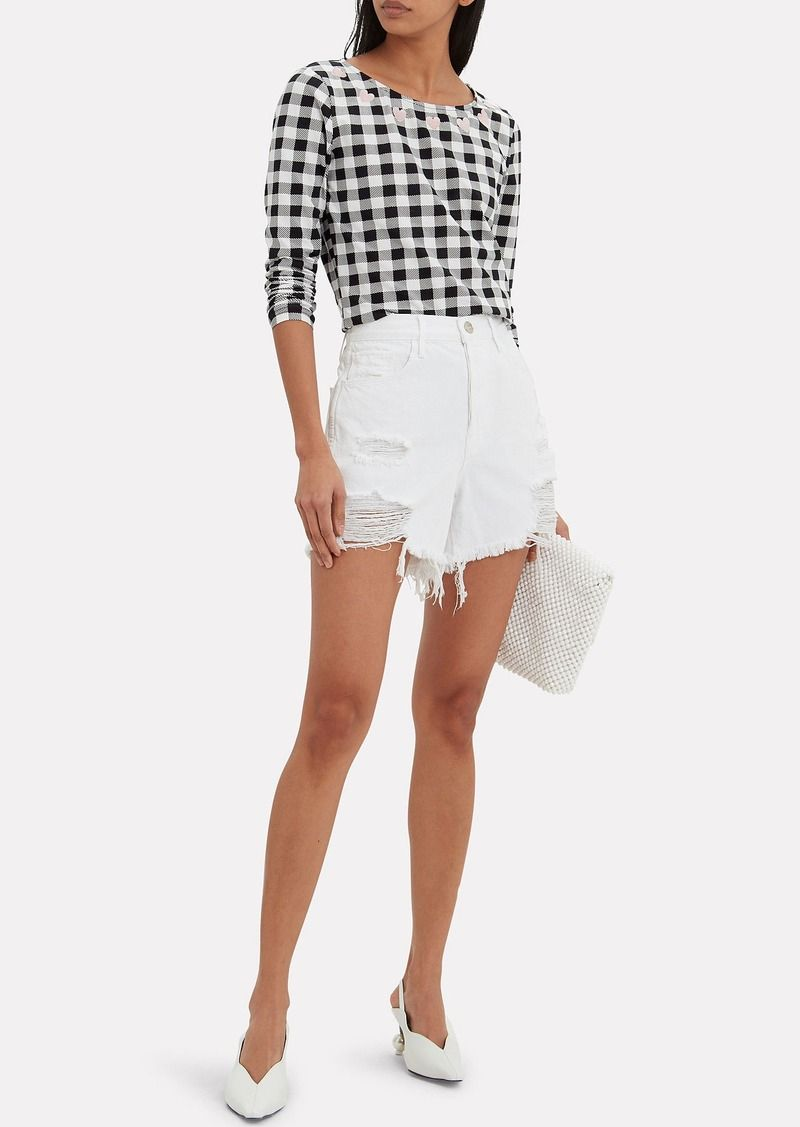 24aa246a2d Imagine these denim shorts with your spin on them. Maybe you'll wear  sneakers, ankle strap kitten heels, or lace-up gladiator flats - the point  is that no ...