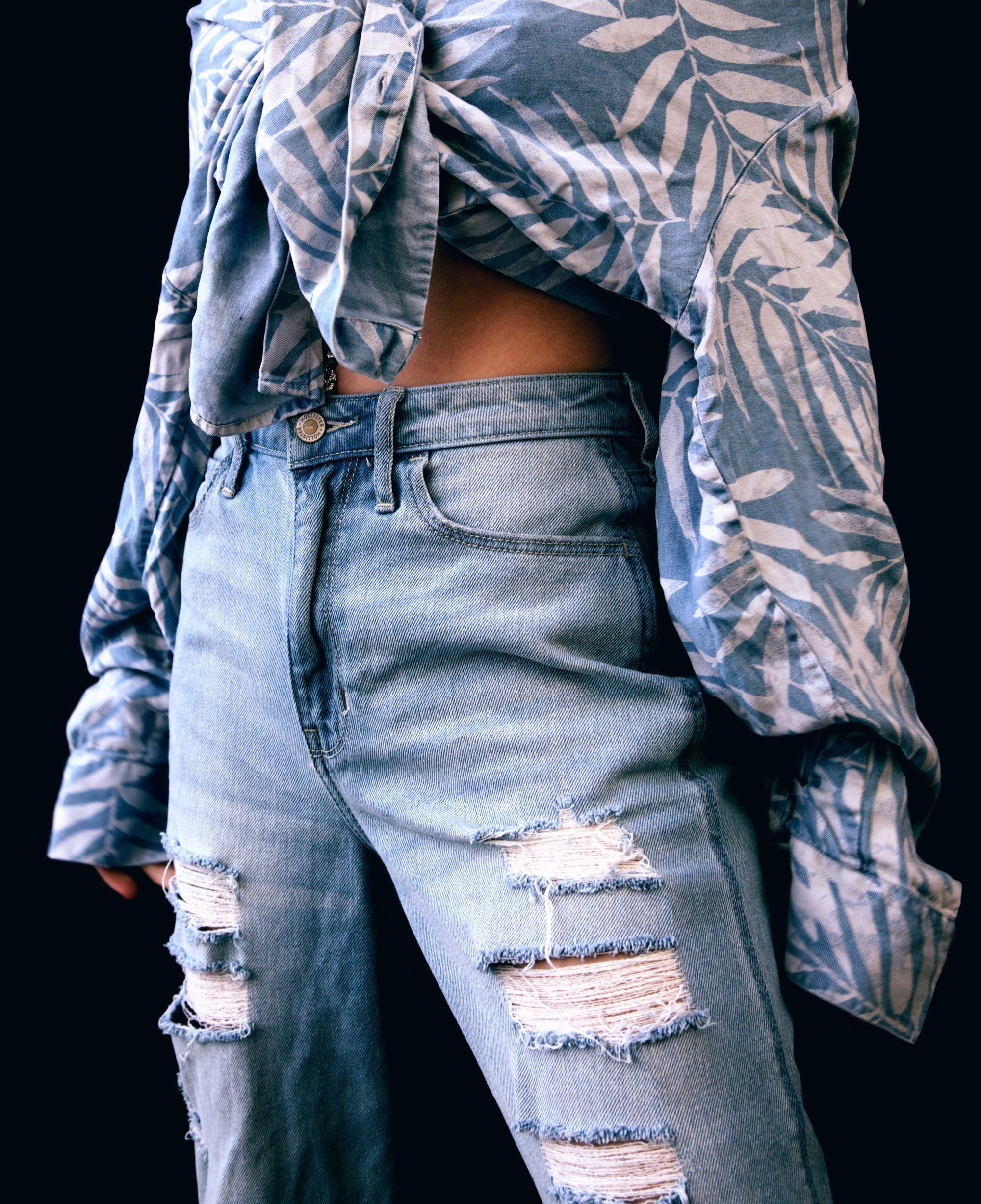Denim on Denim Outfits